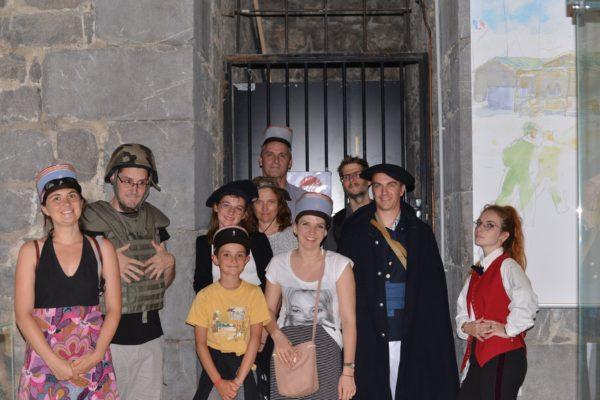 mystère au musée photo du groupe 1