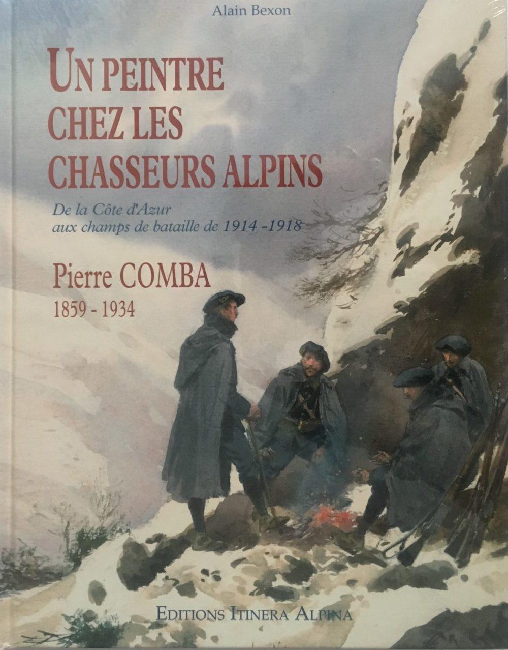 Un peintre chez les chasseurs alpins