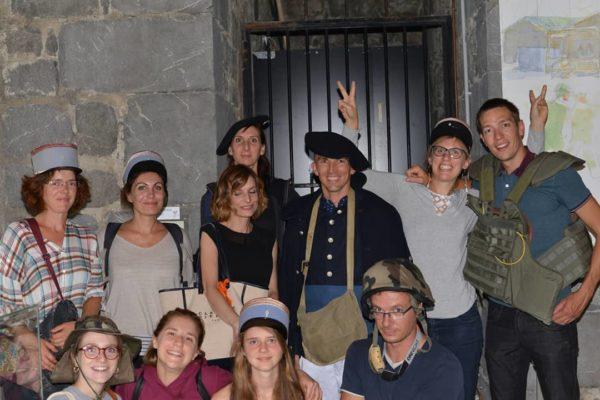 mystère au musée photo du groupe 2