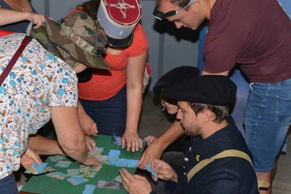 mystère au musée photo du défi du puzzle