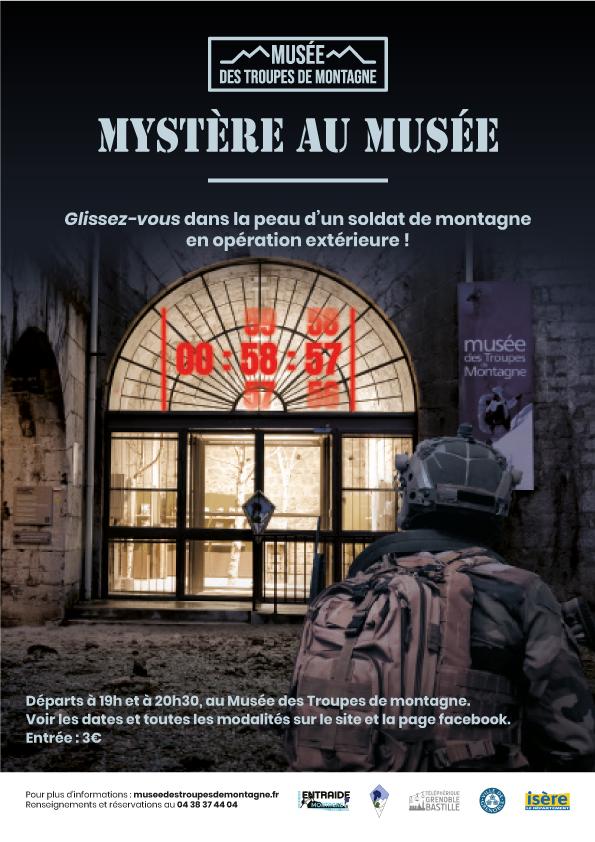 Affiche Mystère au Musée