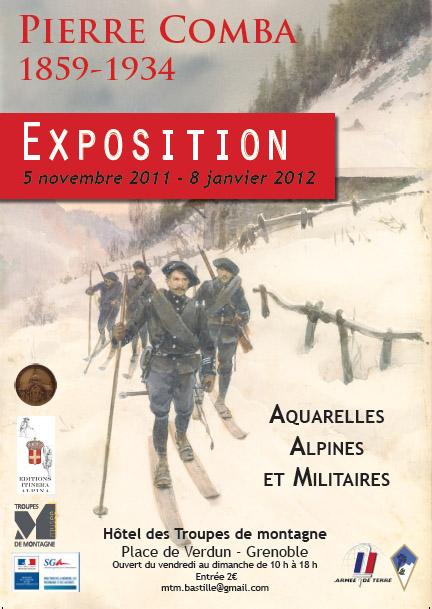 Affiche Exposition Pierre Comba